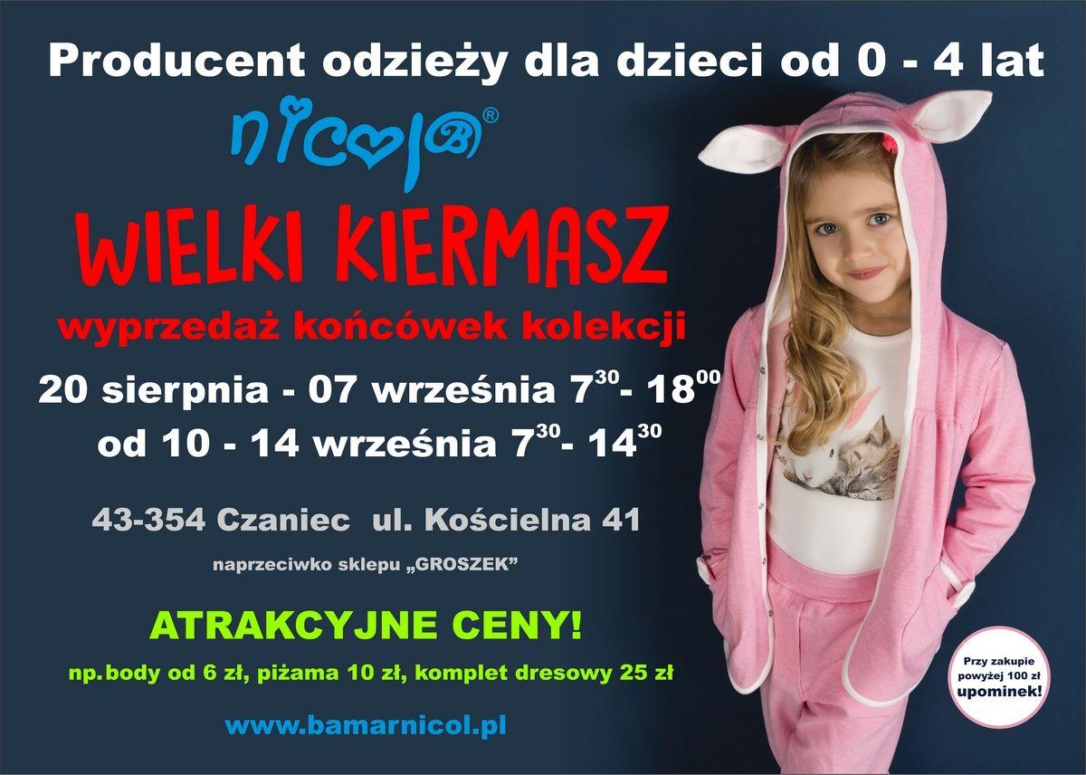 Super ceny ciuchów dla dzieci w Czańcu