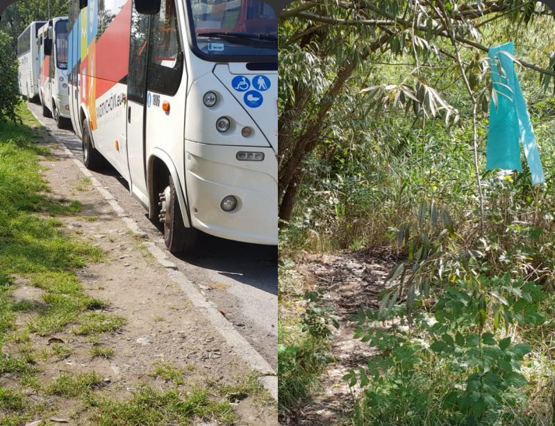 Dramat kierowców andrychowskich autobusów. Nie mają gdzie załatwiać swoich potrzeb [FOTO]
