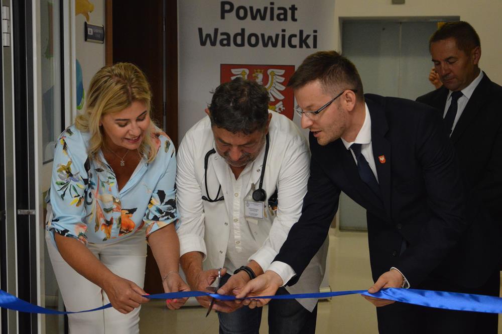 Otwarto nowy oddział dziecięcy w wadowickim szpitalu [FOTO]