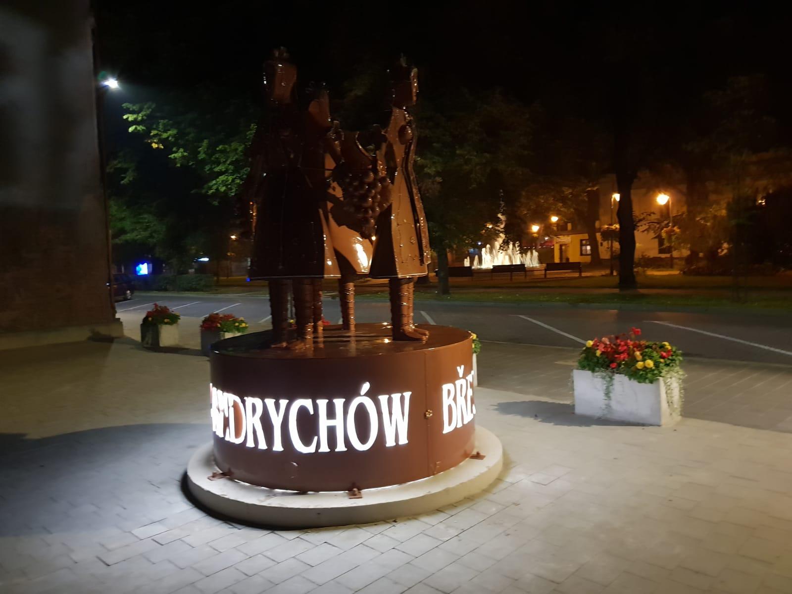 Nocna odsłona Andrychowa [FOTO]
