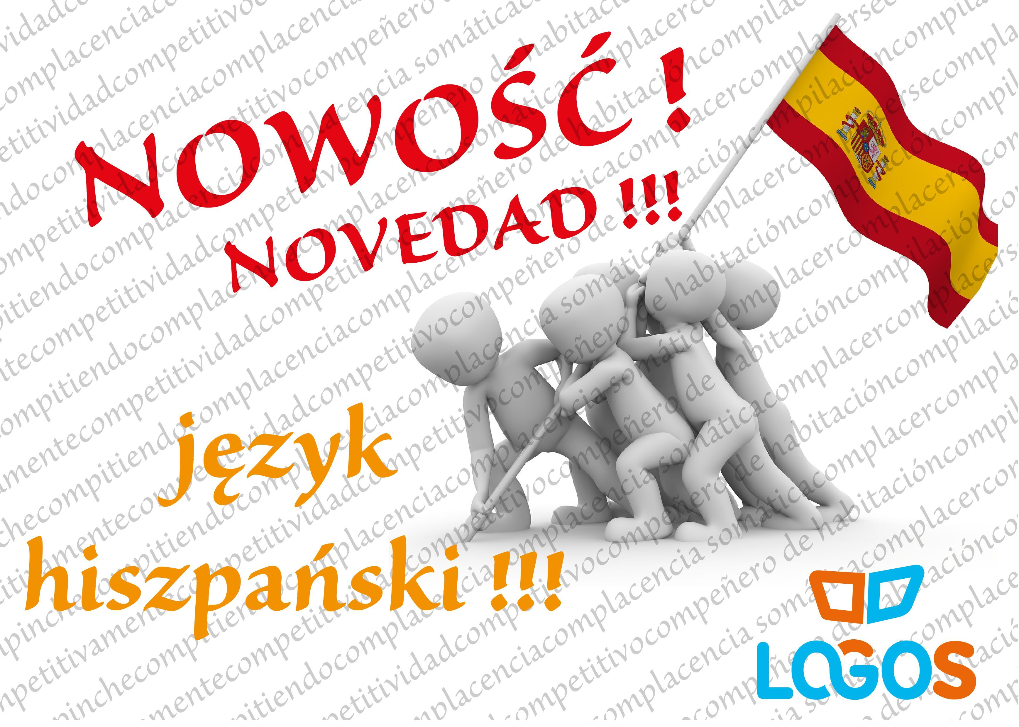 Szkoła Językowa LOGOS zaprasza na zajęcia języka hiszpańskiego!
