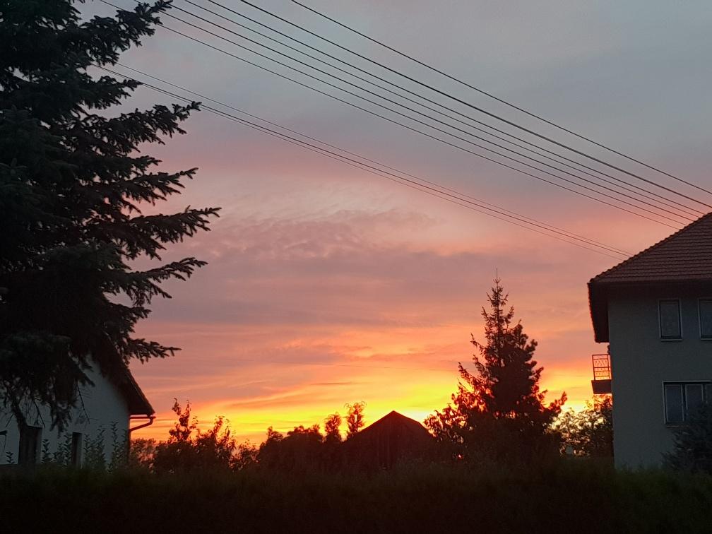 Zdjęcie Dnia. Zjawiskowy zachód słońca