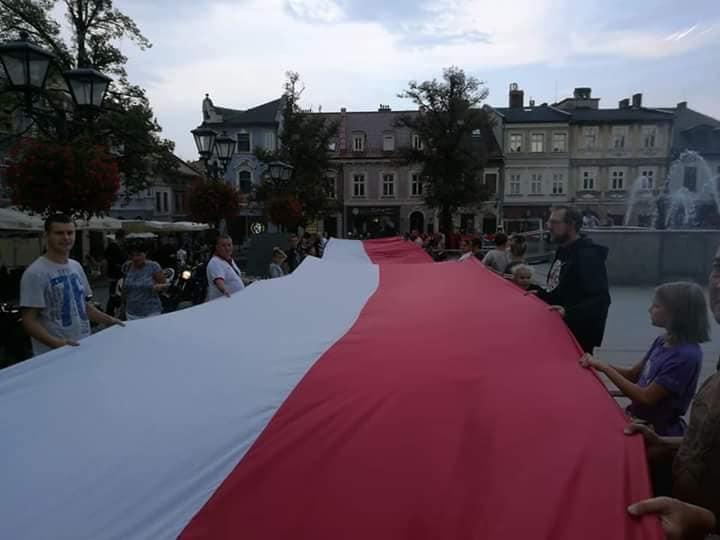 100-metrowa flaga pojawi się w centrum Andrychowa