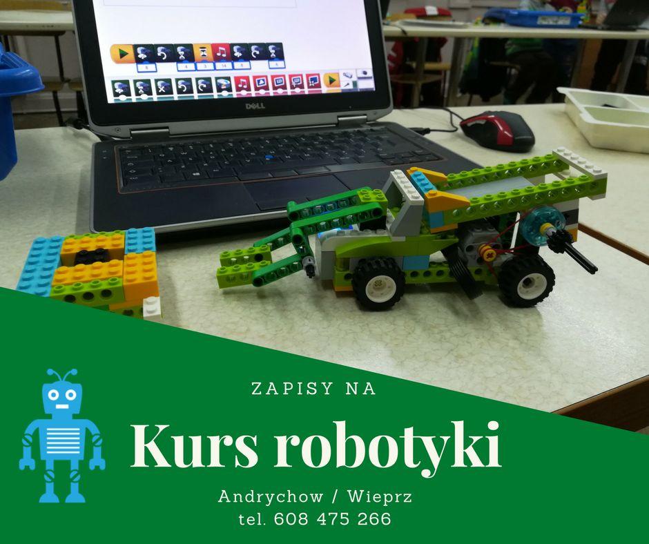 Warsztaty z robotyki. Zapisy już trwają