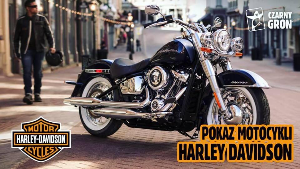 W sobotę pokaz motocykli Harley Davidson