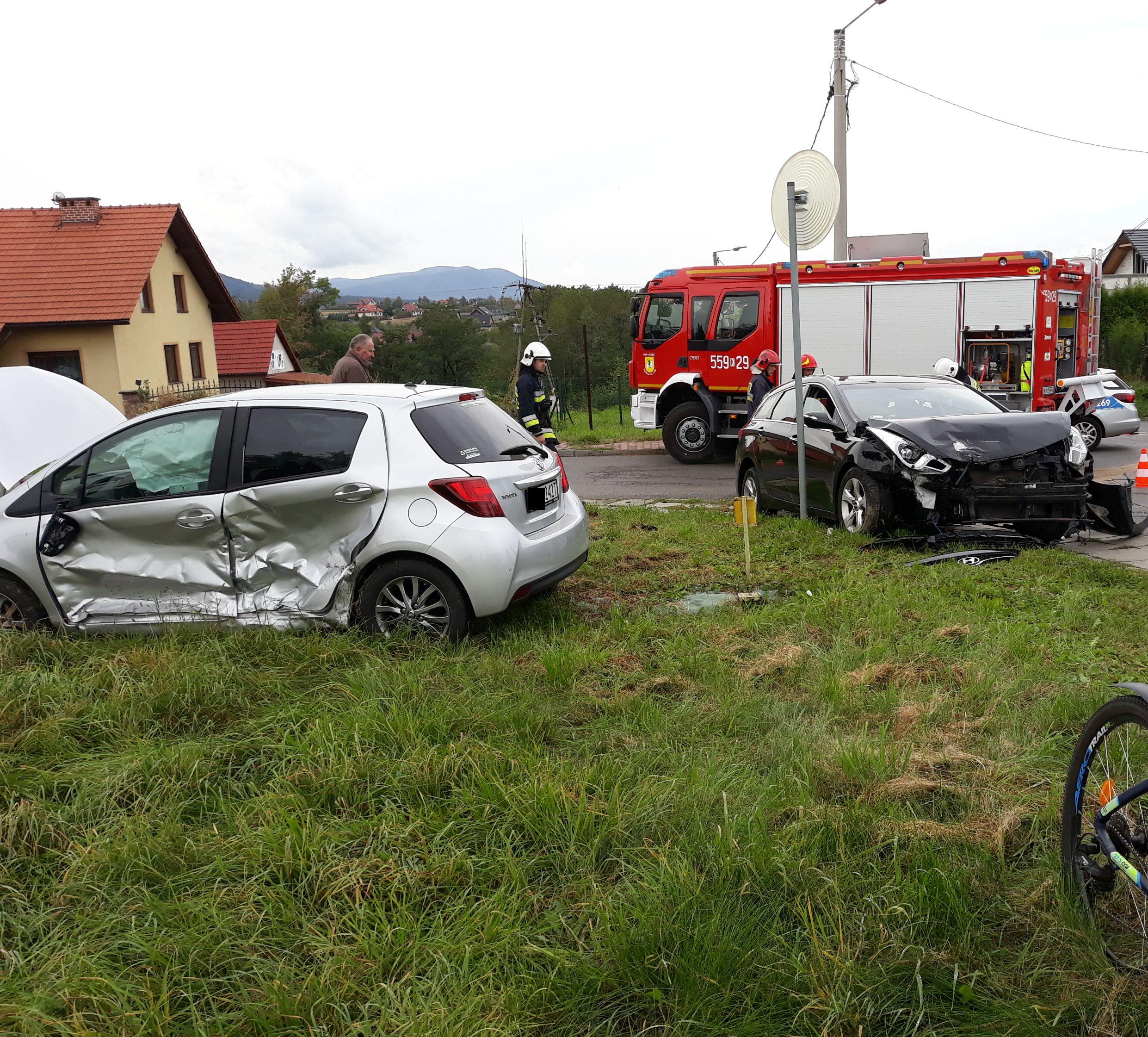 Kolejny wypadek na słynnym i niebezpiecznym skrzyżowaniu [FOTO]