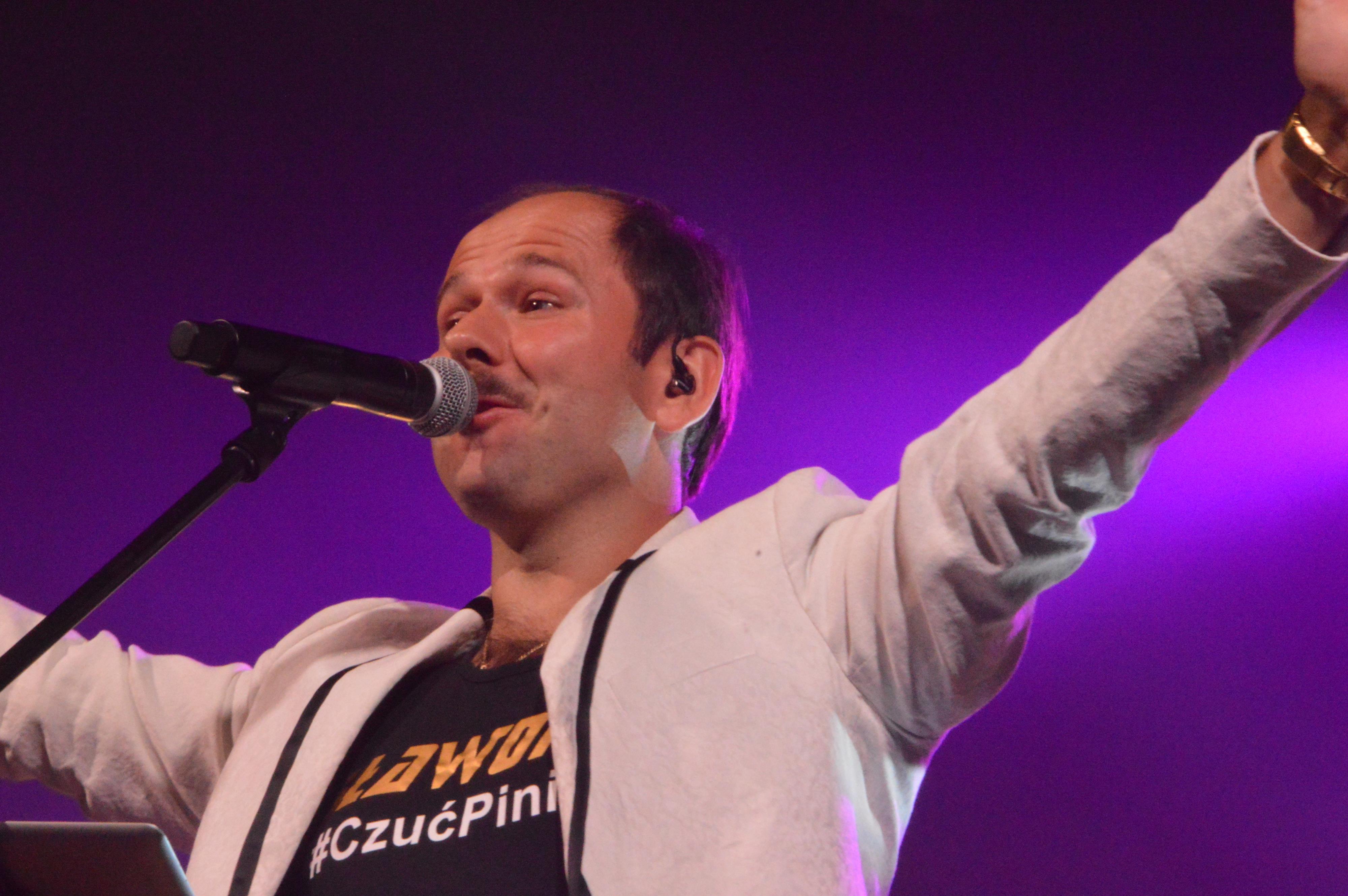 Sławomir ze swoim show w Andrychowie [FOTO]