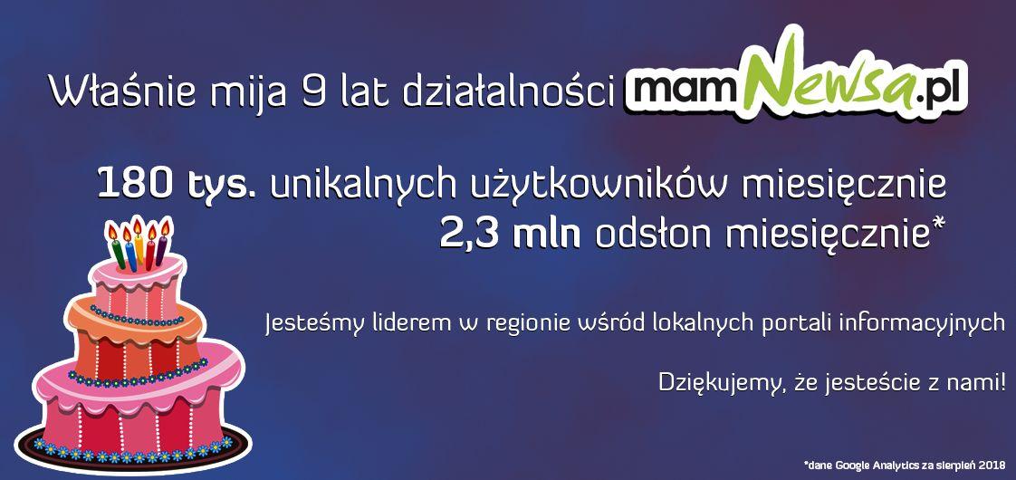 9 lat mamNewsa.pl!