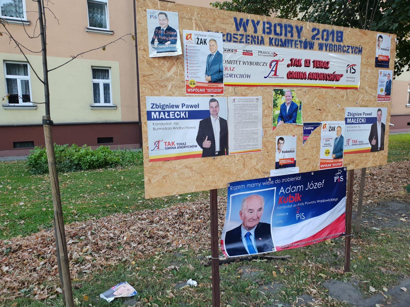 Kto na burmistrza, kto na wójta? Lista kandydatów
