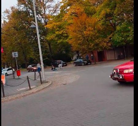 Bijatyka w samym centrum Andrychowa