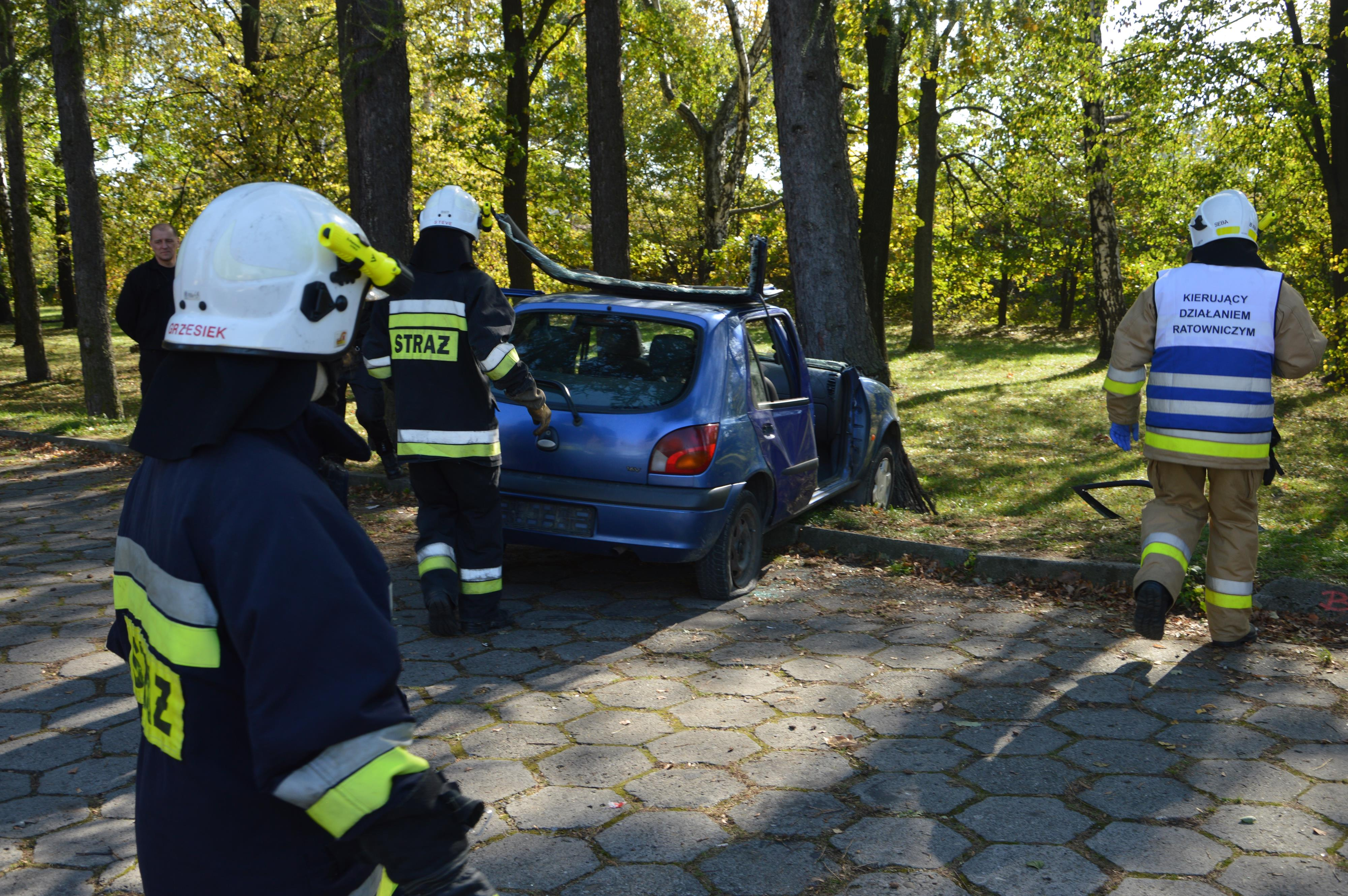 Manewy medyczne strażaków ochotników