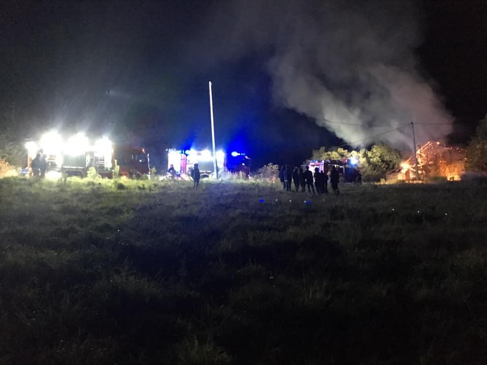 Nad ranem spłonął dom. Nie żyje mężczyzna