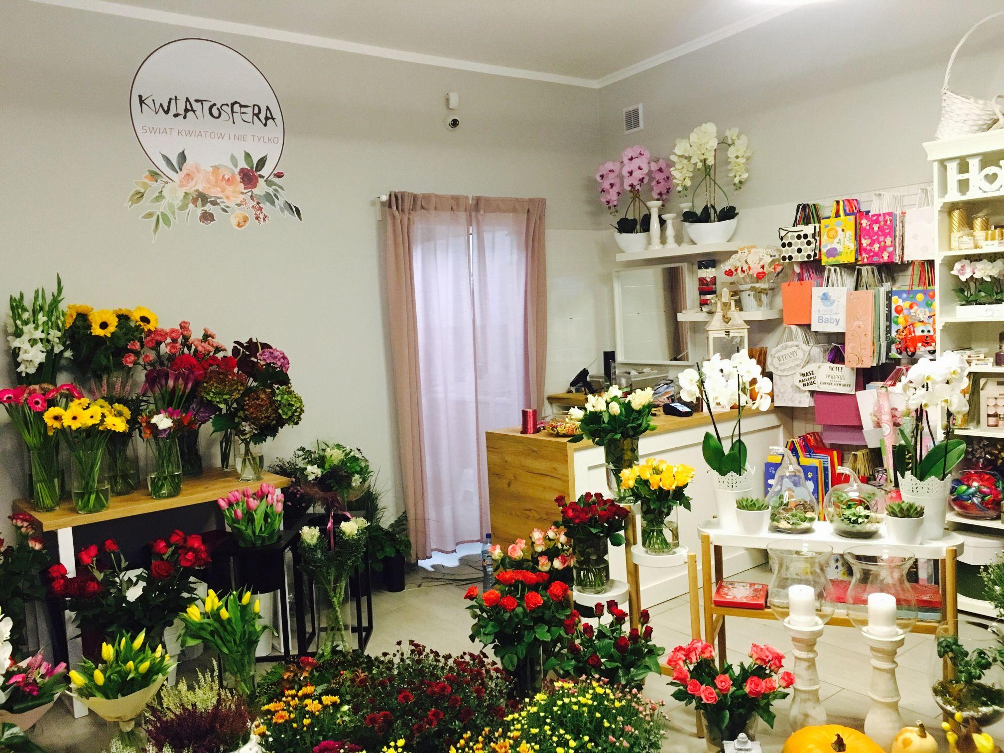 Nowa kwiaciarnia KWIATOSFERA w Andrychowie