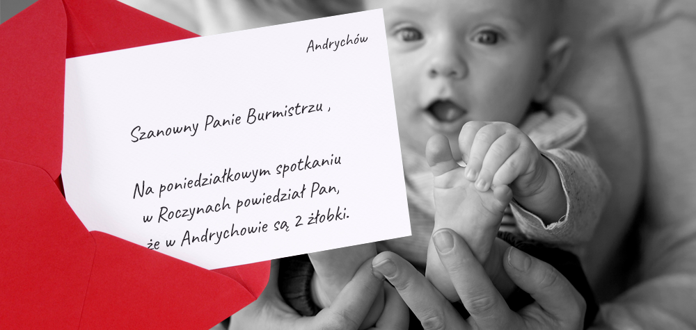 Matki mówią SPRAWDZAM! List otwarty do Burmistrza Andrychowa