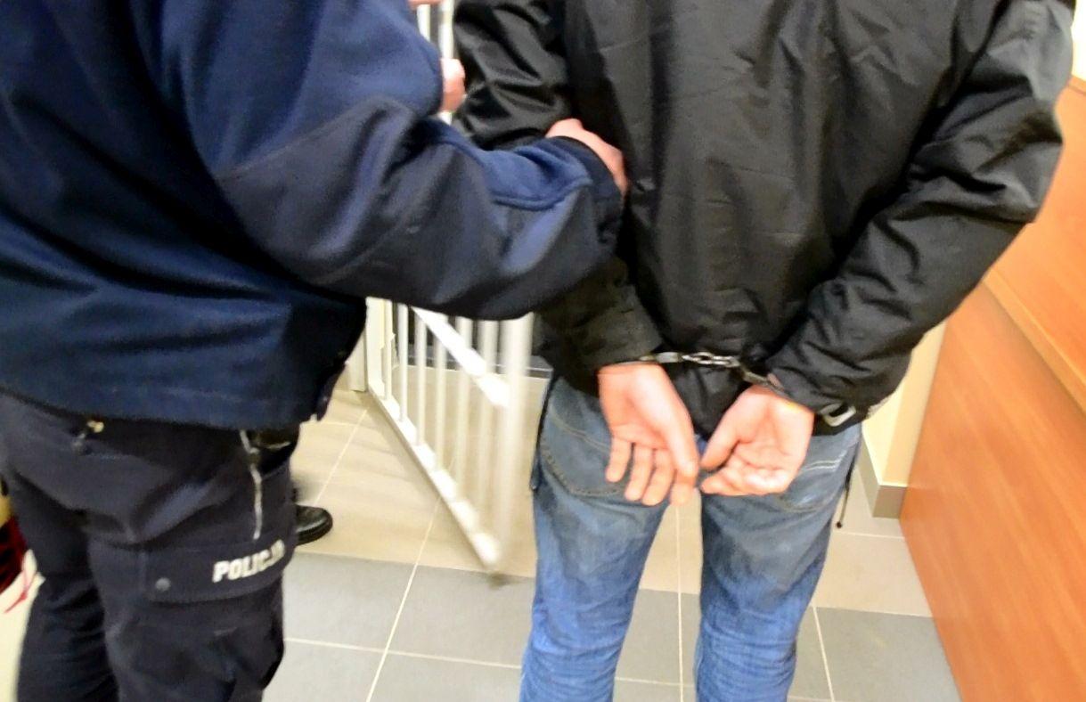 Dzielnicowi zatrzymali poszukiwanego Kolumbijczyka
