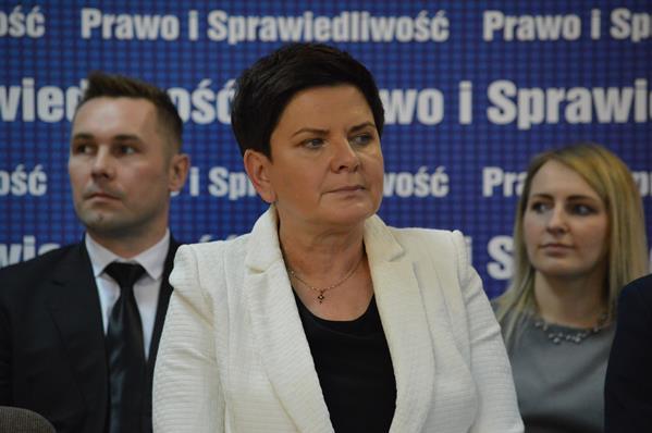 Beata Szydło tym razem odwiedziła Wadowice [FOTO]