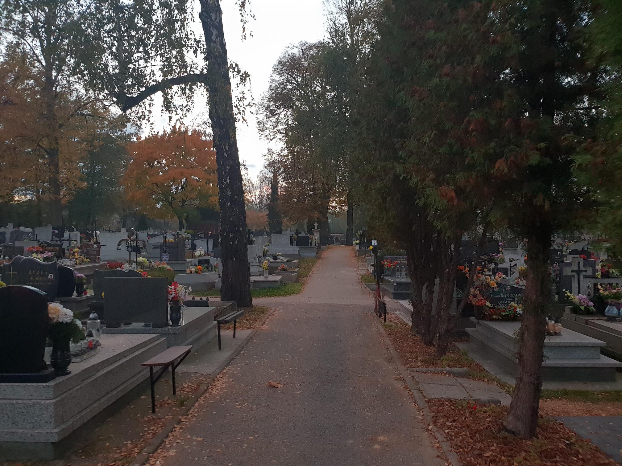 Sprawca napadu na andrychowskim cmentarzu nadal na wolności