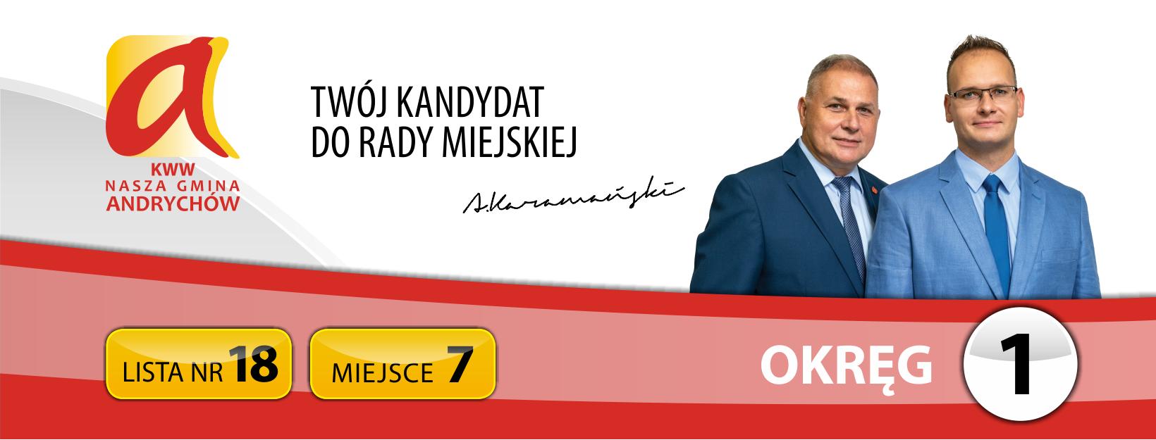 Adam Karamański - Twój Radny #7