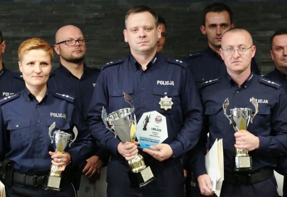 Policjantka z Kęt zajęła trzecie miejsce w policyjnej rywalizacji w Małopolsce