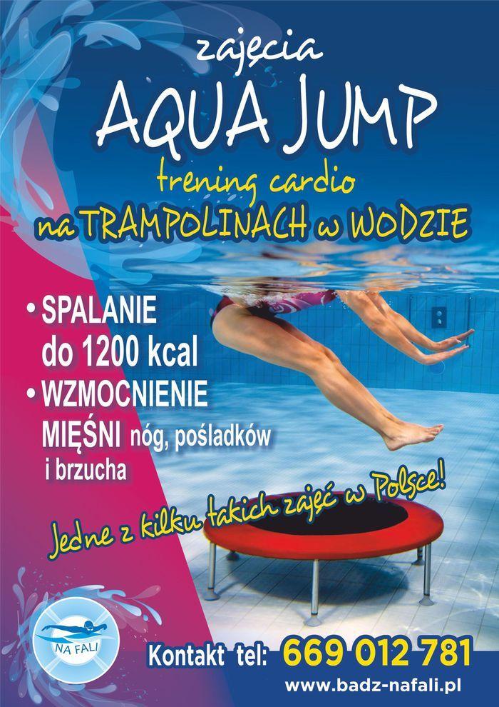 ZAJĘCIA AQUA JUMP - jedne z kilku takich zajęć w Polsce
