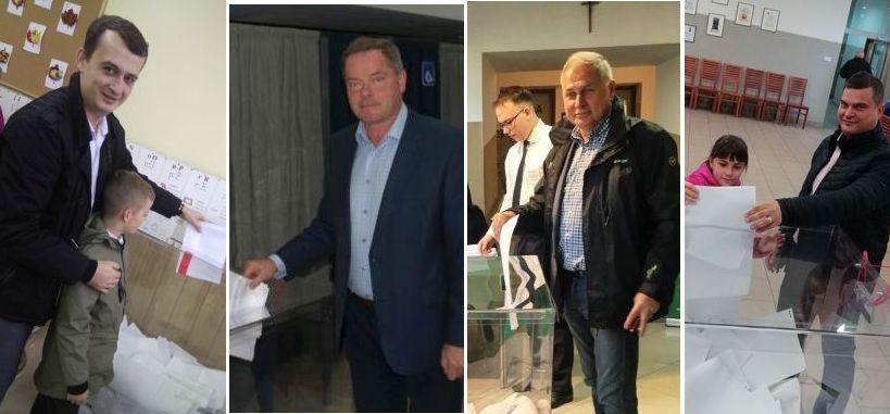 Kandydaci na burmistrza Andrychowa już głosowali [FOTO] [AKTUALIZACJA]