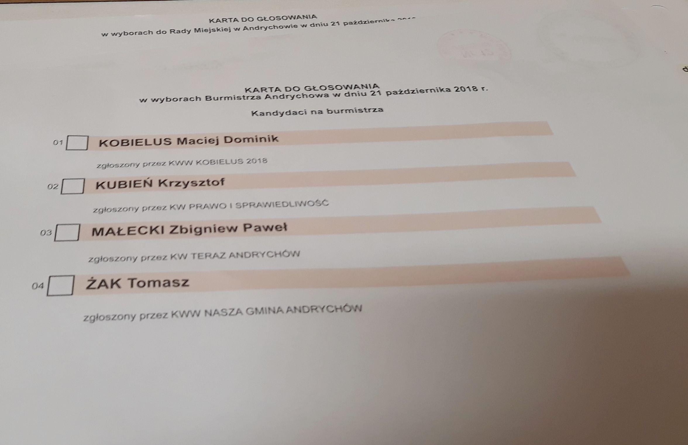 Wybory wójtów i burmistrzów. Oficjalne dane PKW