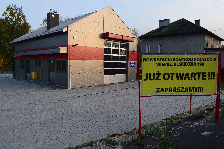 Nowa stacja kontroli pojazdów w Wieprzu