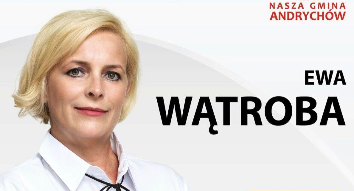 Radna Ewa Wątroba dziękuje za wsparcie i poparcie