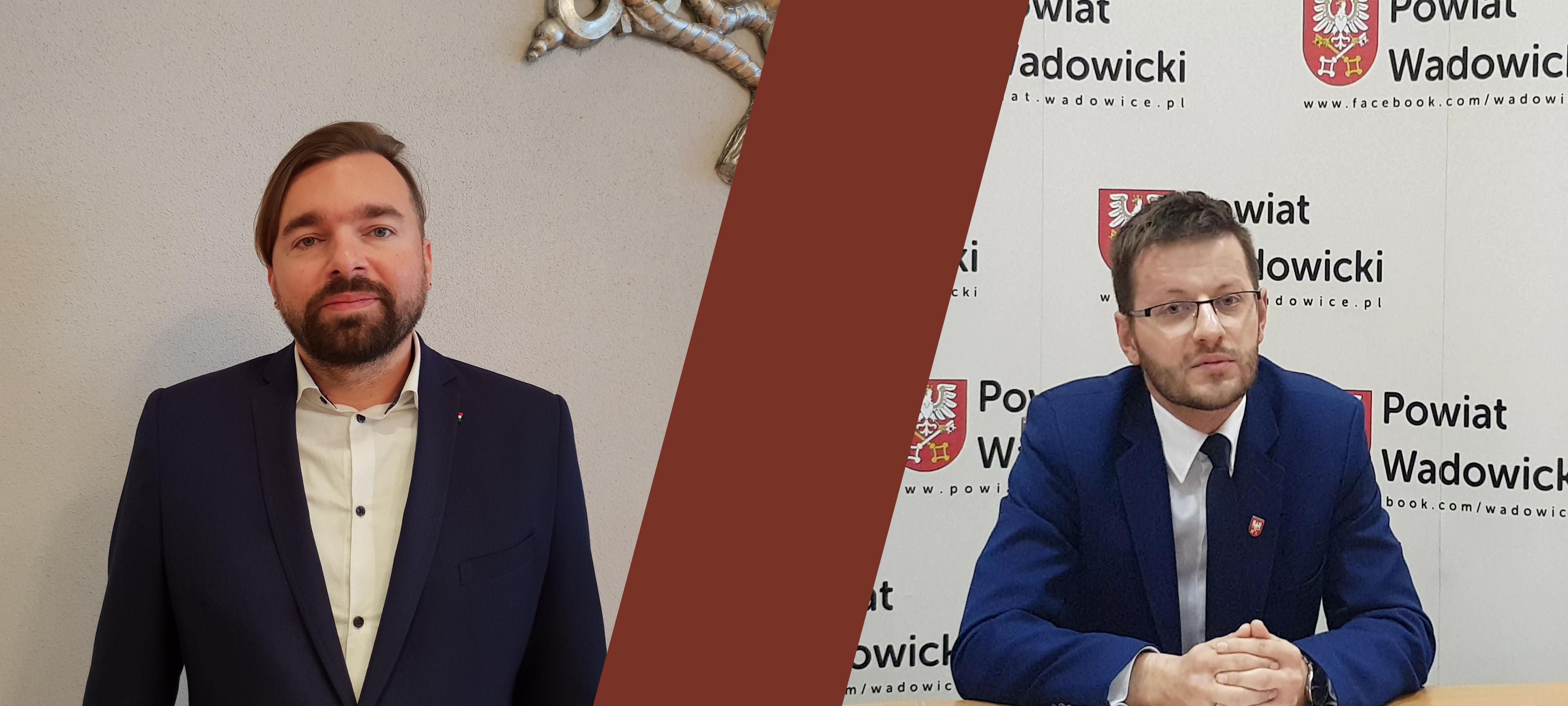 Klinowski i Kaliński komentują wyniki I tury wyborów w Wadowicach