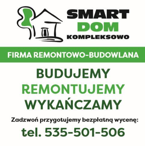 Firma SMART-DOM poszukuje pracowników ogólnobudowlanych