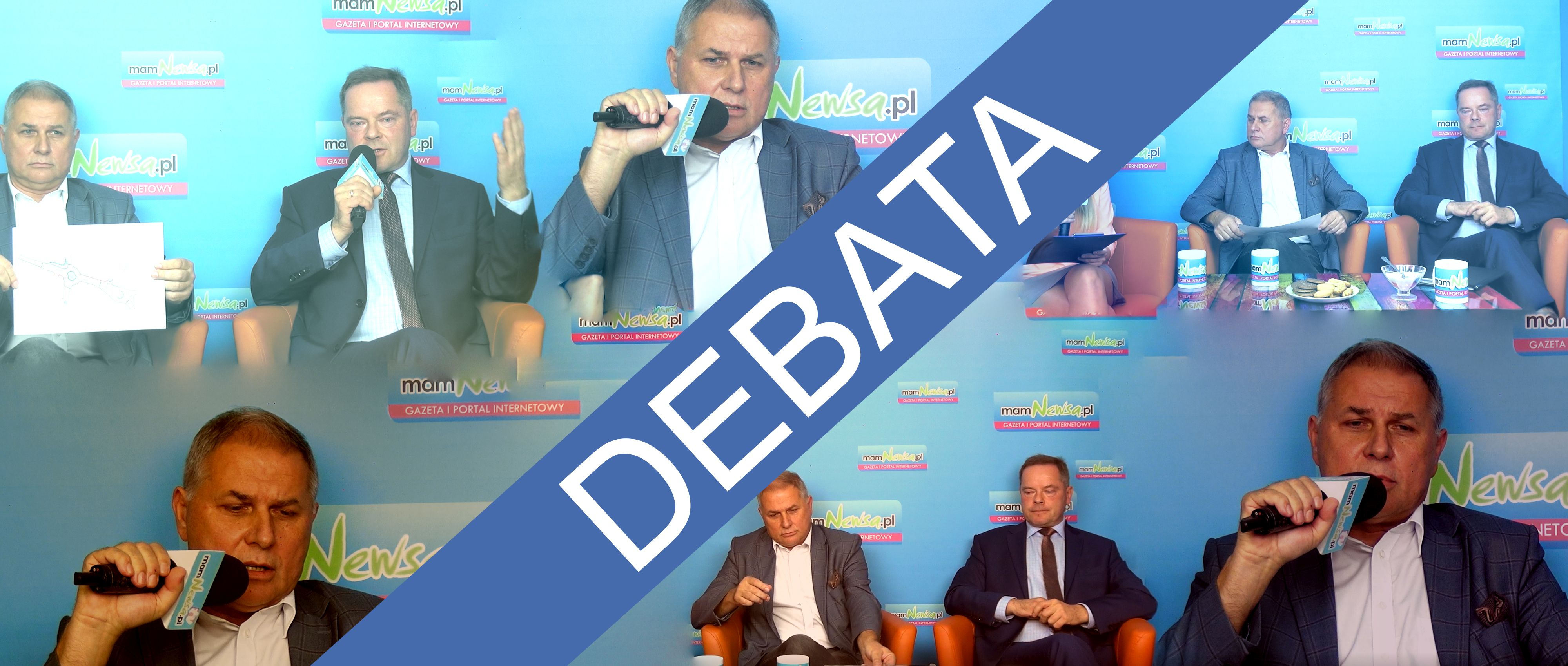 Decydująca debata w Andrychowie. Krzysztof Kubień kontra Tomasz Żak [VIDEO]