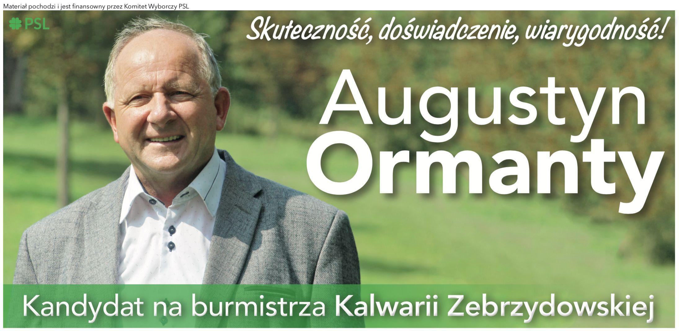 List otwarty burmistrza Kalwarii Zebrzydowskiej do mieszkańców