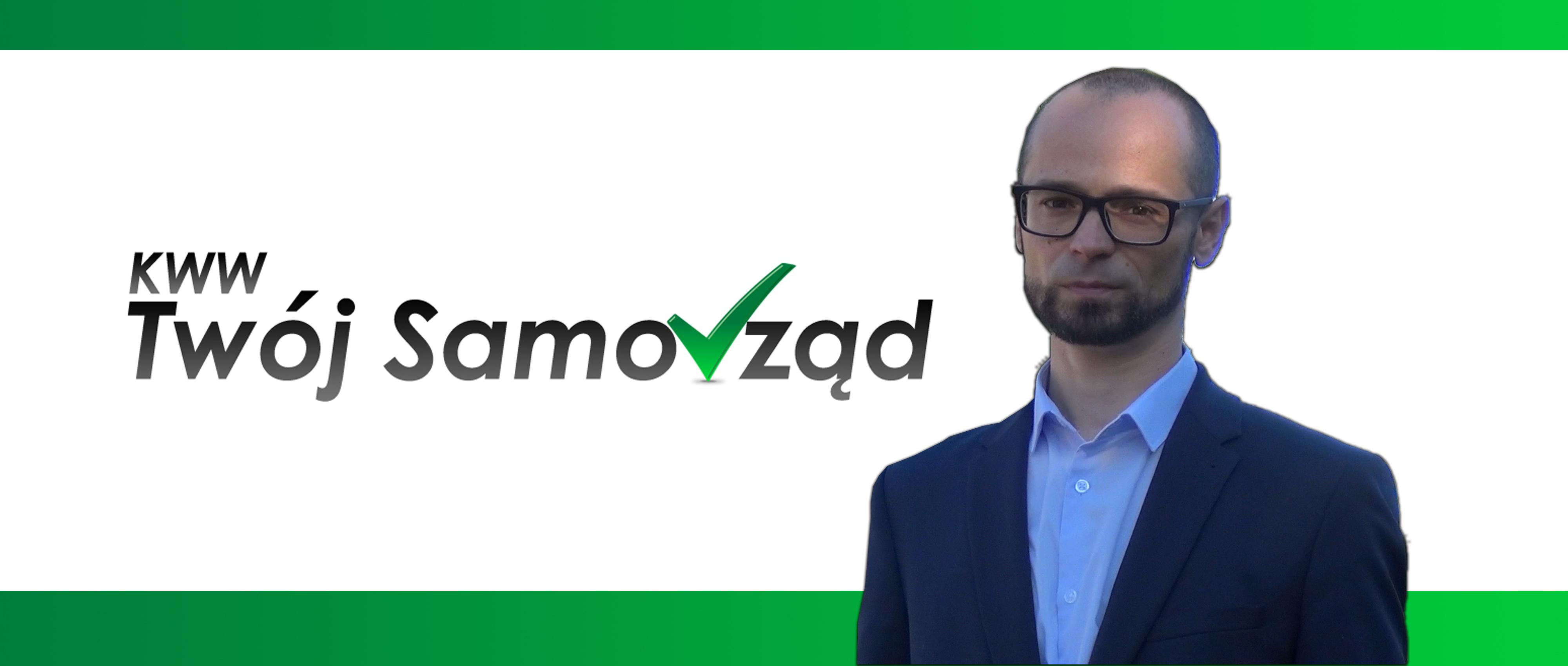 Paweł Żmija - bezpartyjny kandydat na wójta Gminy Stryszów