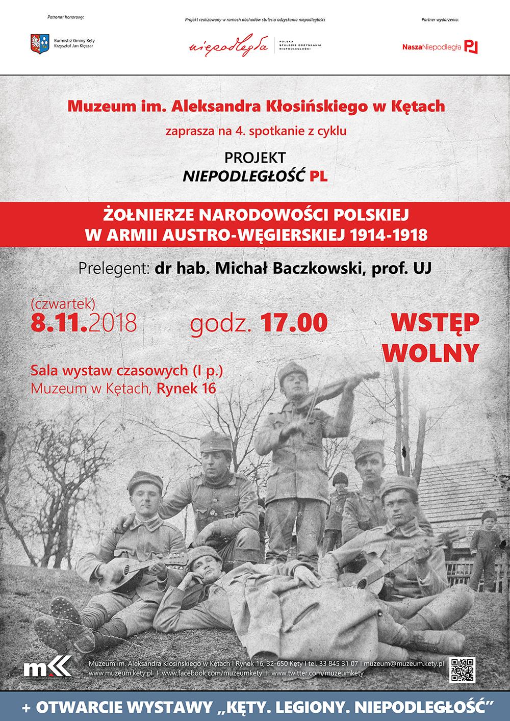 Muzeum zaprasza na prelekcję i otwarcie wystawy związanej z odzyskaniem przez Polskę niepodległości