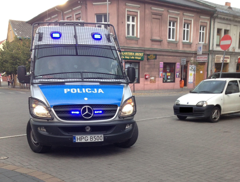 Protest policjantów także w naszym regionie. Minister straszy kontrolami z ZUS