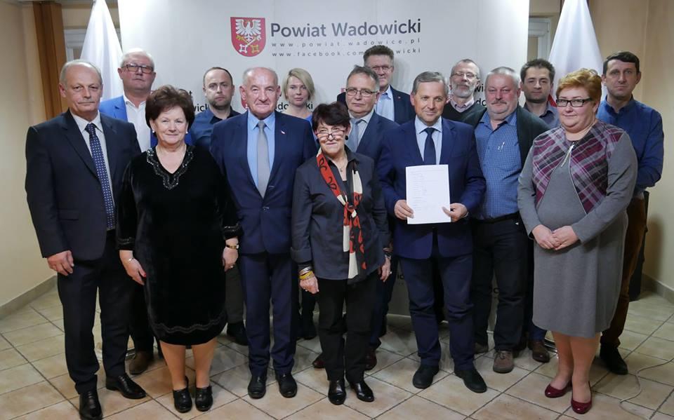 Jest nowa koalicja w Starostwie Powiatowym w Wadowicach i kandydat na starostę [AKTUALIZACJA]