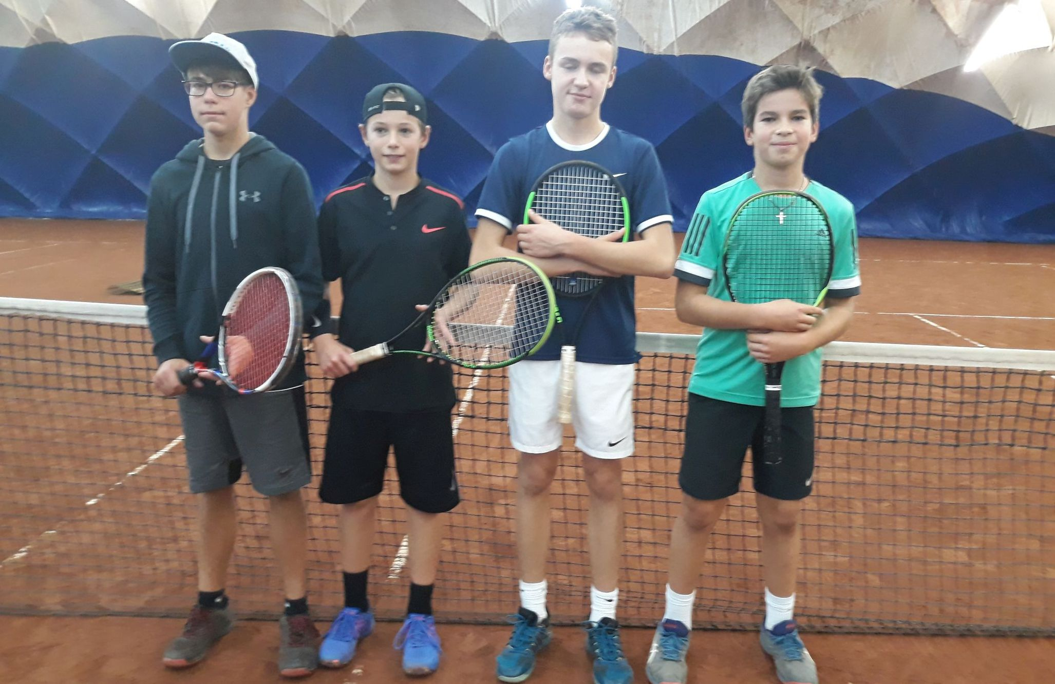 13-letni tenisista MKS Andrychów wygrywa turniej w Poznaniu [FOTO]