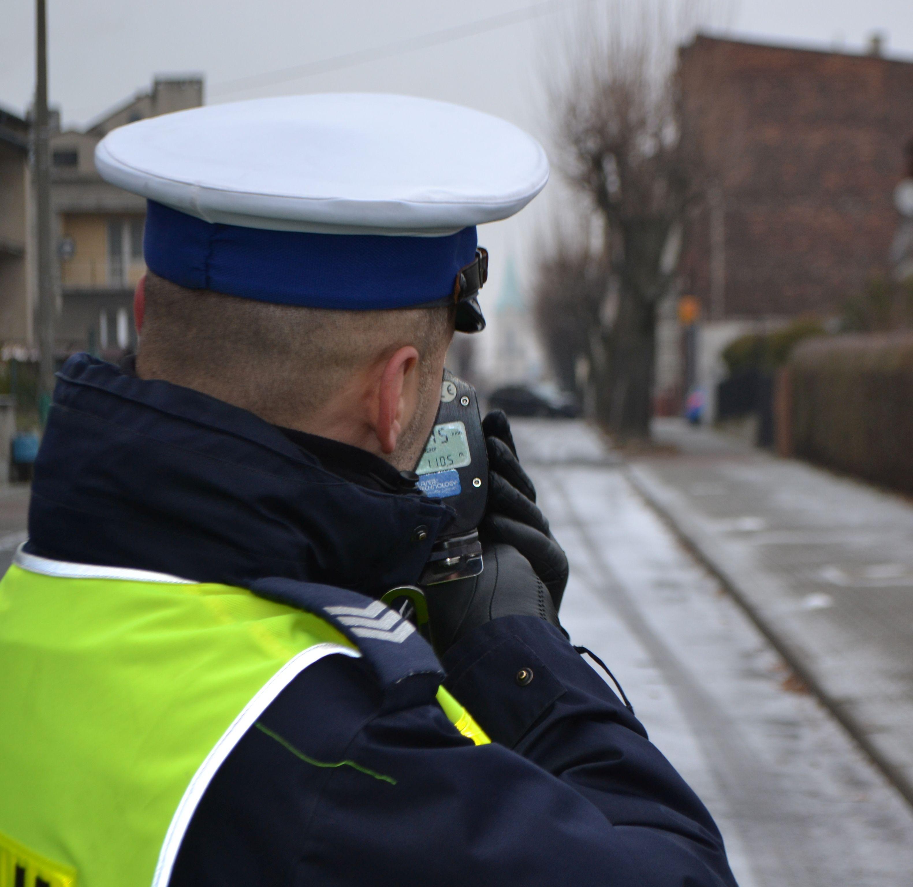 Policyjna akcja na drogach. 58 mandatów za prędkość