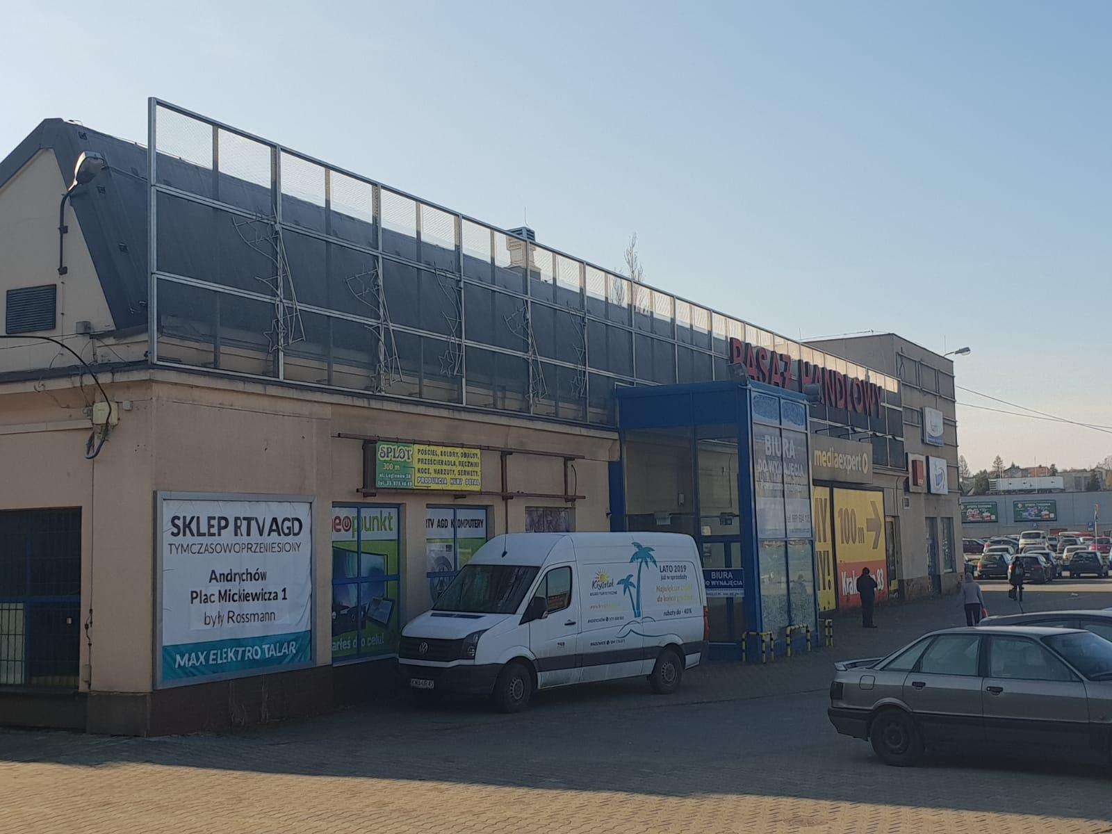 Nowy właściciel pasażu handlowego w Andrychowie. Będzie remont i ponowne otwarcie