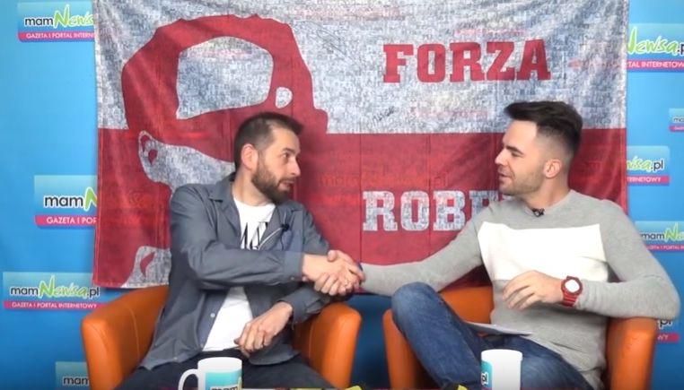Rozmowa z wielkim fanem Roberta Kubicy, współtwórcą gigantycznej 'sektorówki'