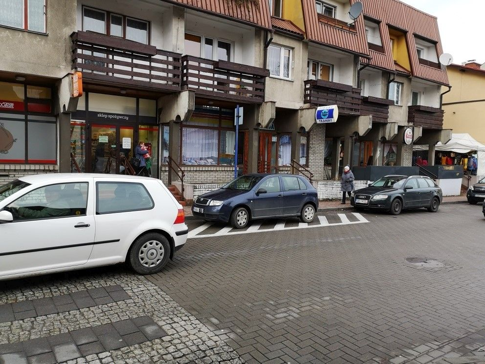 List od Czytelnika w sprawie parkowania w centrum Andrychowa