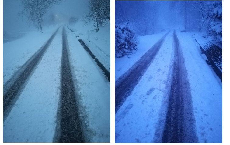 Zima zagościła na drogach