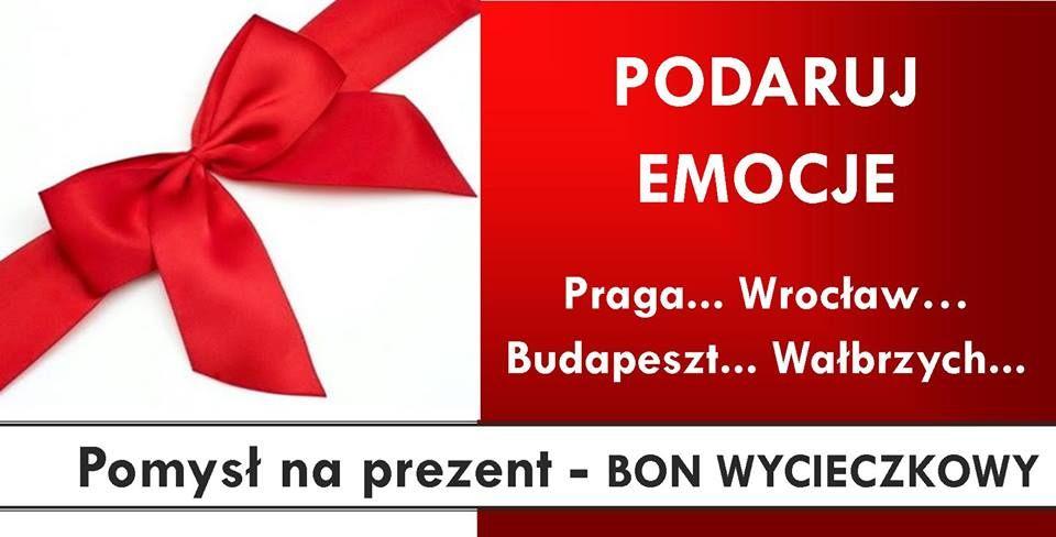Pomysł na prezent - BON WYCIECZKOWY z Borkała Travel