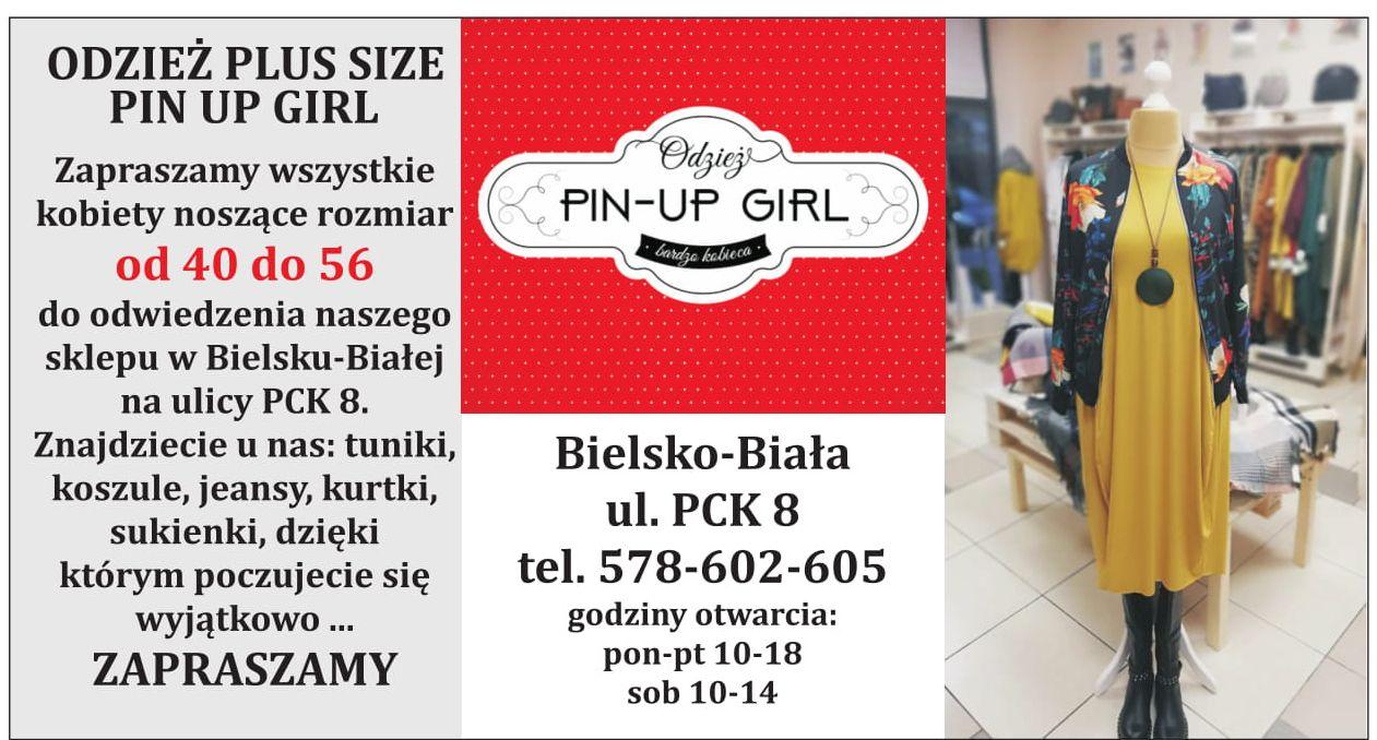 Nowy sklep odzieżowy z rozmiarami 40-56