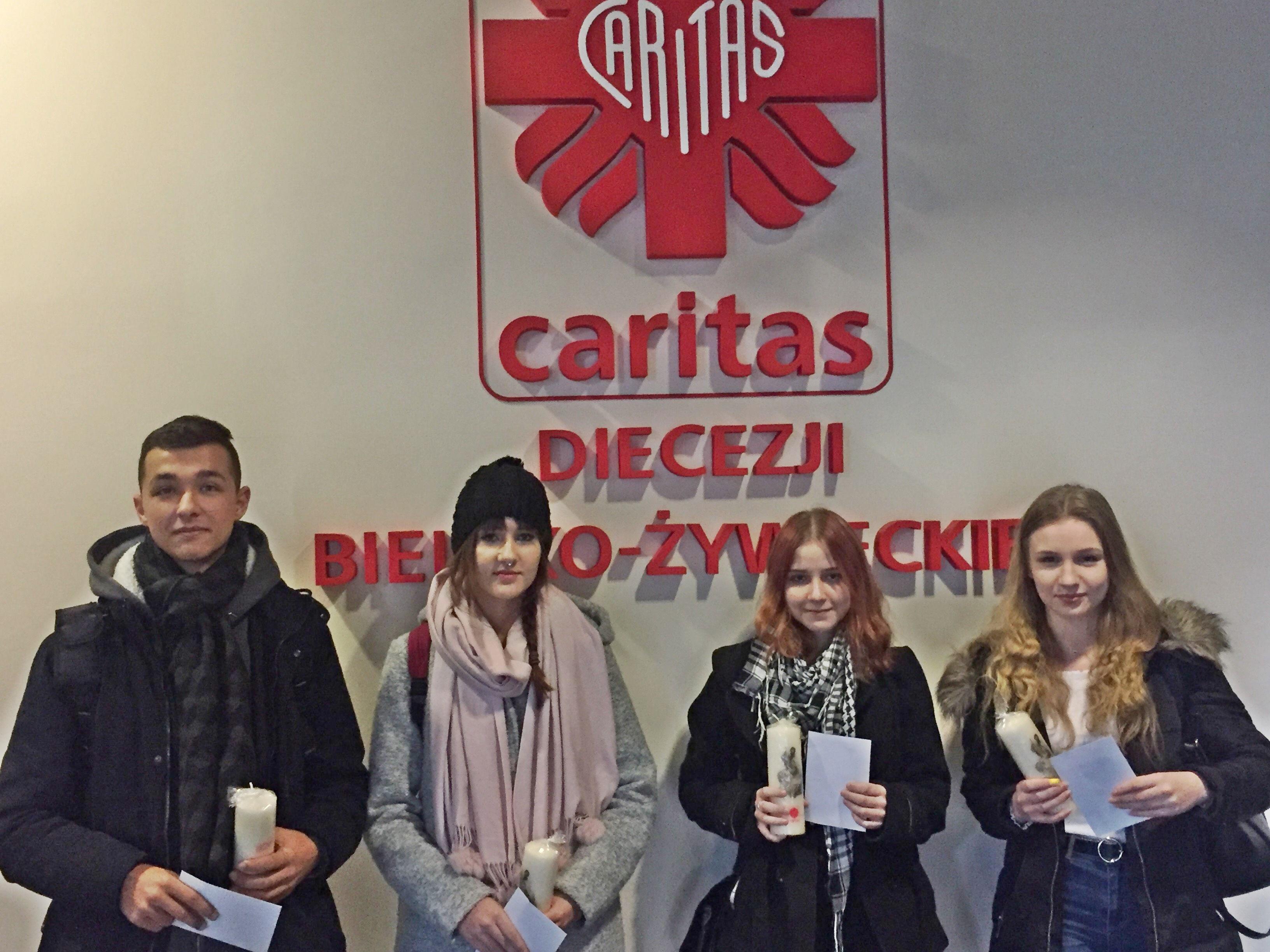 Sukcesy uczniów z Andrychowa w konkursach zorganizowanych przez Caritas Diecezji Bielsko-Żywieckiej