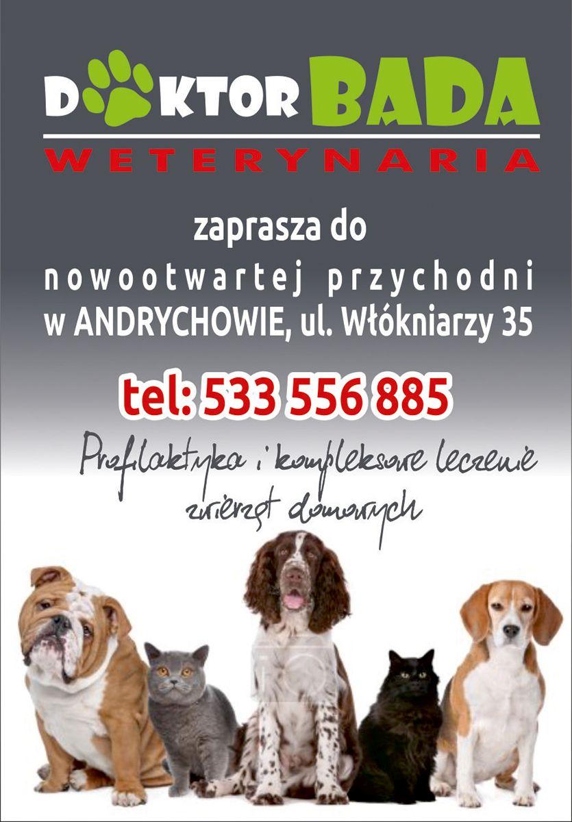 Nowa Przychodnia Weterynaryjna Bada w Andrychowie