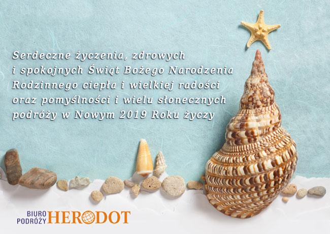 Życzenia od Biura Podróży HERODOT z Wadowic