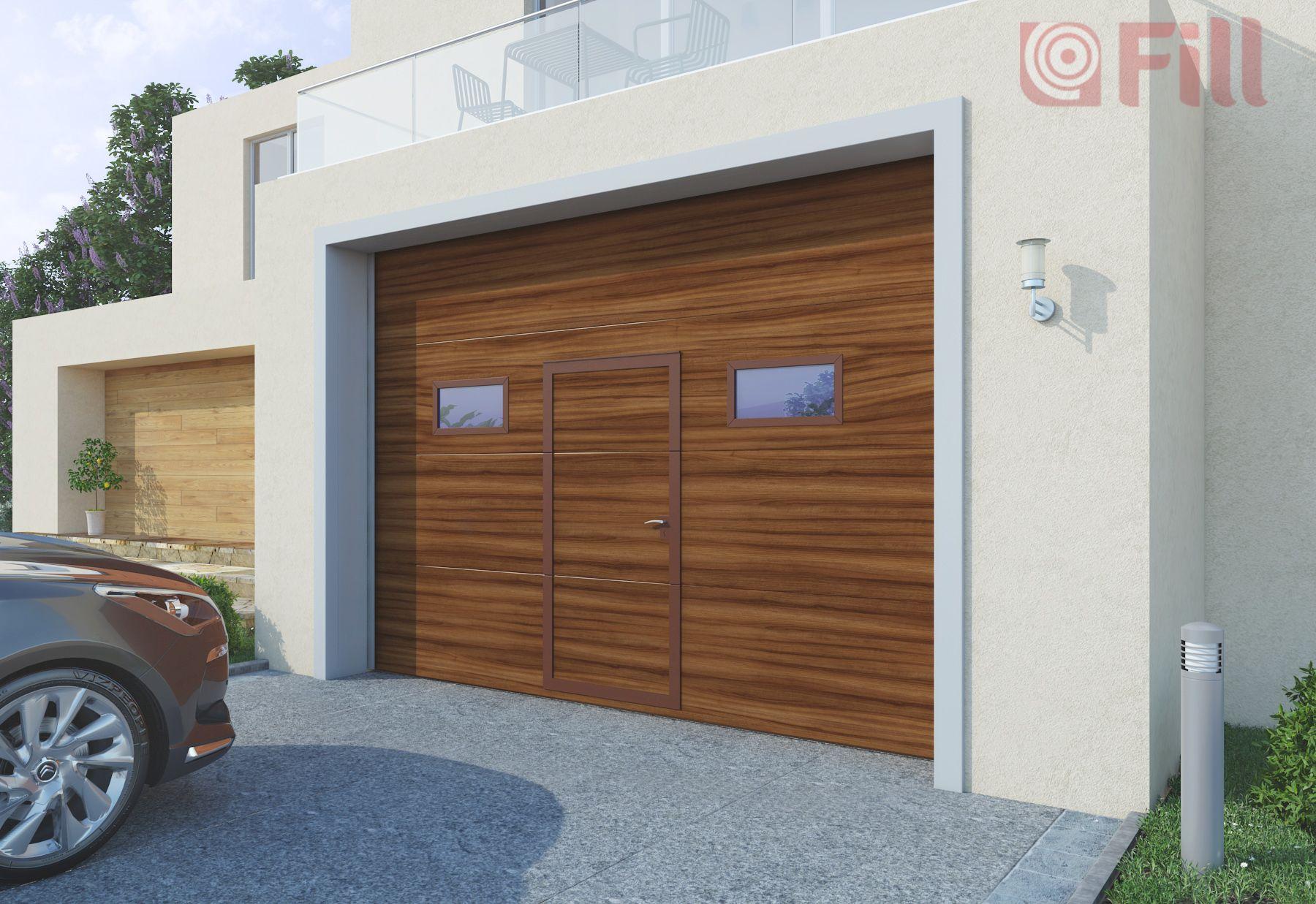 Brama garażowa firmy FILL. Postaw na sprawdzonego producenta
