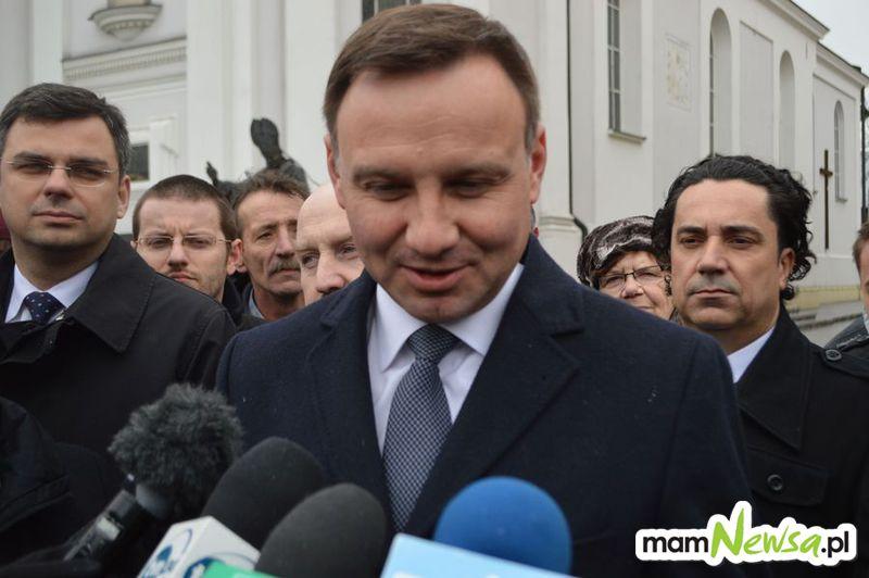 Znany jest oficjalny program pobytu pary prezydenckiej w Wadowicach