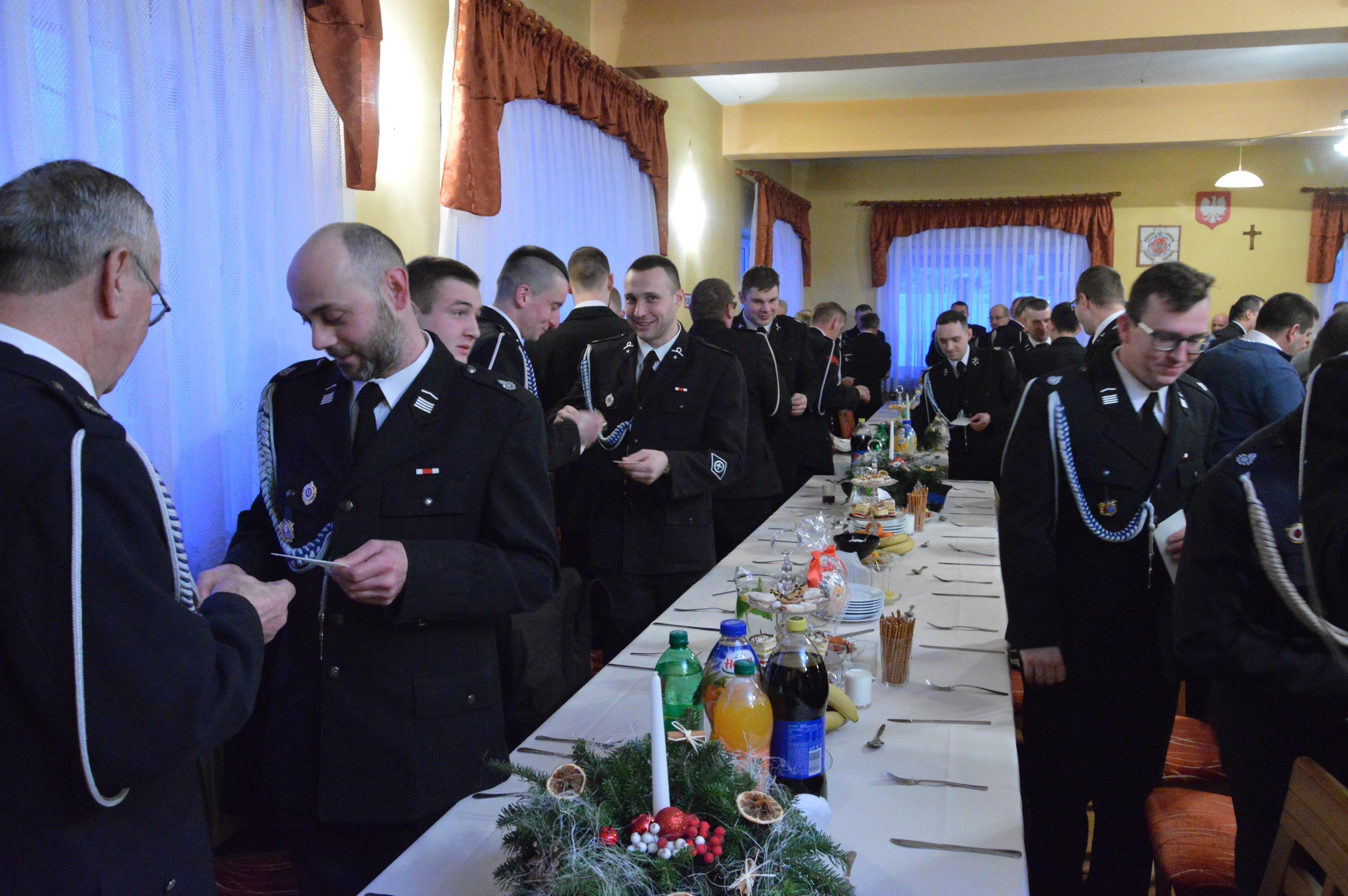 Spotkanie opłatkowe strażaków z gminy Andrychów [FOTO]